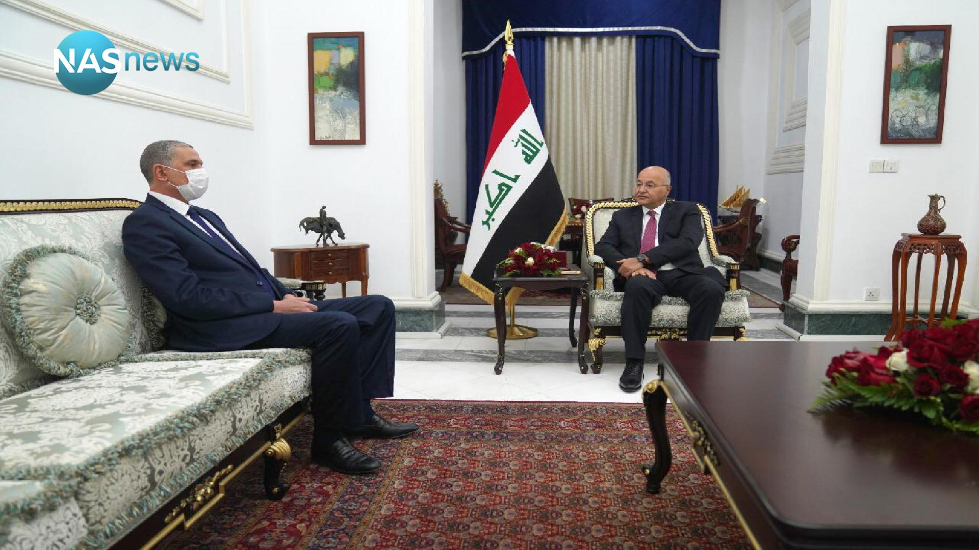 Talks between Barham Salih and the Minister of Interior: The forces are ready to maintain security Edf01e3d8-49856-202101100344