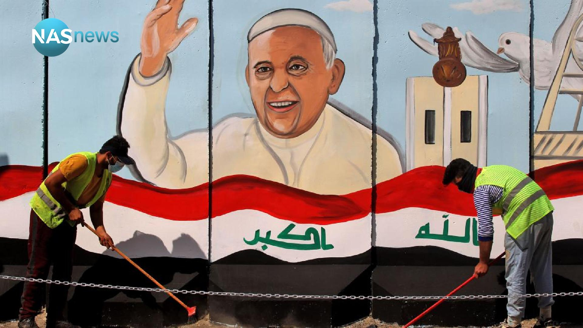 During his meeting with Fuad Hussein ... the Pope of the Vatican talks again about his recent visit to Iraq F6a2d3755-54066-202103020154