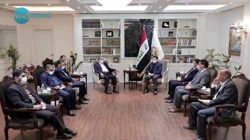 الأعرجي لمسؤول إيراني رفيع: العراق يتطلع لخلق جوٍّ من الأمن والسلم يخدم المنطقة